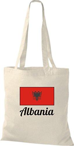 Camicia In Tessuto Borsa In Cotone Borsa Countryjute Albania Alabania Colore Rosa Natura