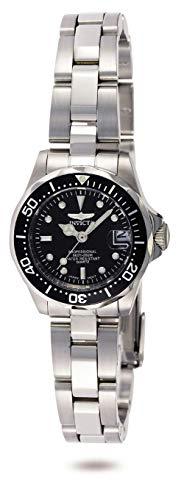 Invicta 8939 Pro Diver Damen Uhr Edelstahl Quarz schwarzen Zifferblat