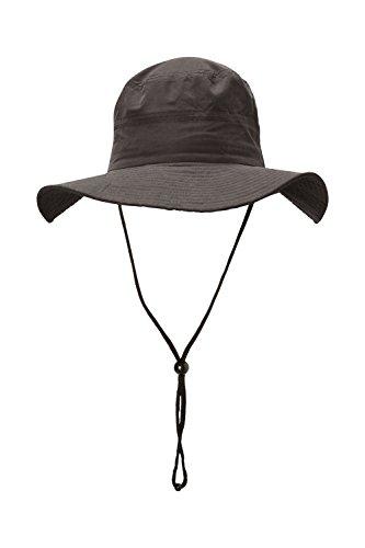Mountain Warehouse Australian Legionnaire Hat - UV30 UV Protection Summer Hat, Foldable Flap Cap, Lightweight & Easy to Pack Sun Hat - For Walking & Travelling