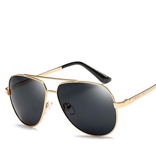 MJ Glasses Sonnenbrillen Polarisierter Farbfilm für klassische Retro-Brille mit Froschspiegel für Männer und Frauen, B