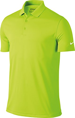Nike Golf Victory Solid Mens Polo Shirt - 12 Colours / Sml-2XL - Volt - S (Dri-fit Nike Golf Körper)