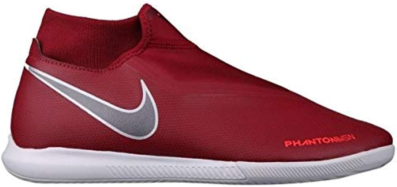 NIKE Unisex Adults' Phantom Vsn Academy Multicolour Df Ic Futsal Shoes, Multicolour Academy (Team Red/MTLC Dark Grey/Bright Crimson... c1e7de