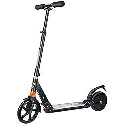 Scooter Eléctrico Mini Plegable Vida Útil del Coche Eléctrico La Velocidad Más Alta Es 15Km / H 180W Protección Sin Escobillas del Motor IP54 Bicicleta Eléctrica Plegable Rápida