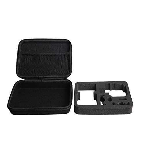 MuSheng Tragetasche Handtasche für DJI Osmo Action Kamera, Wasserdicht Reisetasche Outdoor Carry on Hard Case Tasche für DJI Osmo Action Große Reise tragbare Handheld Bag Storage (Schwarz)
