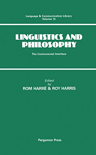 R  Harré,R  Harris's Linguistics and Philosophy: The Controversial