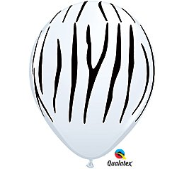 Qualatex Zebra Stripes