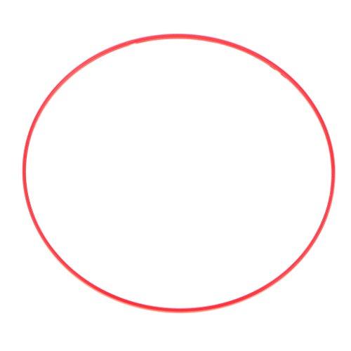 SM SunniMix 1 Pezzo Anteriore Lente Red Circle Plastico per Canon 24-105 24 70 Gen 2