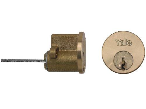 Yale Locks, Cilindro di ricambio, rivestimento in ottone, per serratura, da incasso - YALB1109PB