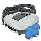 Airmax Eco-Syst-mes 001040 Pondair Quatre a-rateur de bassin de pierre