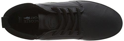Lacoste AMPTHILL TERRA PUT Herren Hohe Sneakers Schwarz (BLK/BLK 02H)