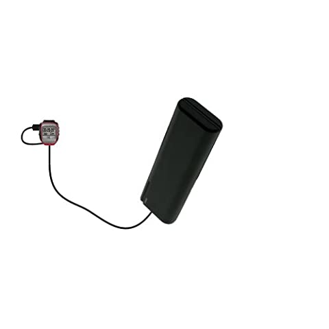 Gomadic Portable AA Battery Pack designed for the Garmin Forerunner 205 - Powered by 4 X AA Batteries to provide Emergency charge. Built using TipExchange