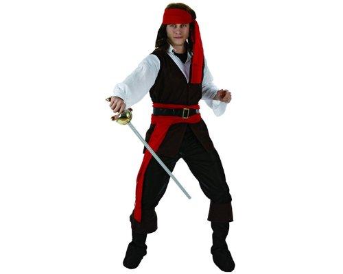 ATOSA Piratenkostüm für Herren - M / L (Erwachsene Piraten-boot)
