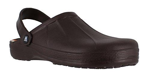 11 Schuhe Garten Größe (Gartenschuhe, Kunststoff-Clogs für Herren von Wetlands, für Garten, Küche, Krankenhaus, braun - braun - Größe: 44)