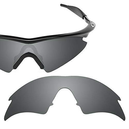 sunglasses restorer Kompatibel Ersatzgläser für Oakley M-Frame Sweep (Titanium, Polarisierte)