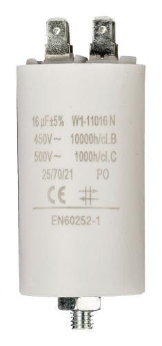 Condensateur de démarrage 16µF / 450V