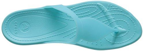 Crocs - Crocsárioáflipáw, Sandali Donna Blu (Pool/Pool)