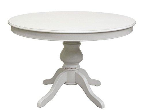 Arteferretto Table laquée Ronde allonge - diamètre 120 cm