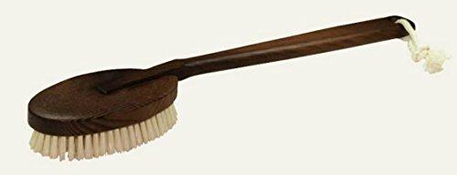 Redecker en bois Thermotraité de bain douche corps Brosse à récurer, 45 cm/45,1 cm - 731145