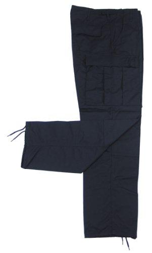 MFH Herren Kampfhose US BDU Rip Stop, schwarz, XL, 01334A