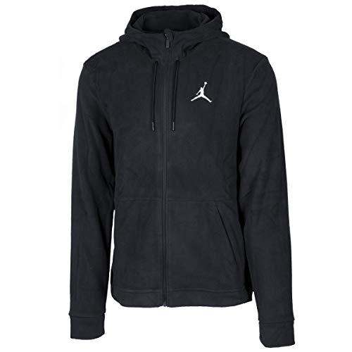 Nike Herren 23 Tech Therma Fz Sweatshirt, Schwarz/Weiß, XL Air Jordan Hoodie