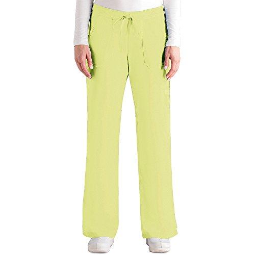 LEMONADE Grey's Anatomy Damen Junior Fit 4-Pocket Elastische Rückseite Peelinghose Limonade XXL - Barco Scrubs