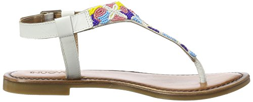 Inuovo 7233, Tongs Femme Weiß (White)