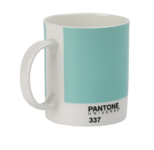 Pantone Porzellan-Becher, mint green 337