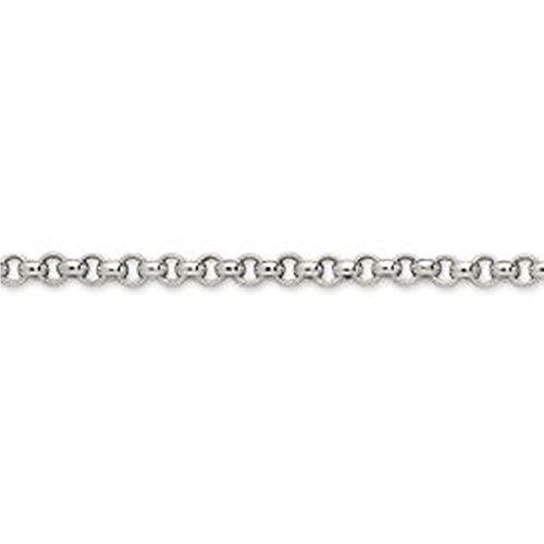 Ysora - Bracelet En Or Gris Avec Maille Fantaisie - 750 ‰ - 18 cm