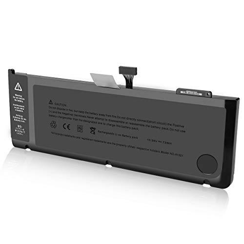 ENERGUP Ersatz A1321 Akku Laptop Akku für A1321 A1286 Unibody MacBook Pro 15'', Fits Mb985 Mb986j/a Mc118 - [10.95V 77.5Wh] Mc118ll/a Macbook Pro