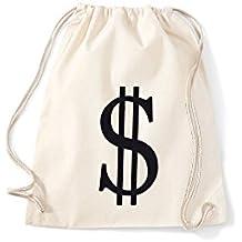 turnbeutel mit dollarzeichen