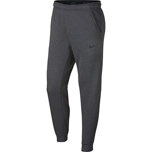 Nike Herren Therma Tapered Trainingshose Charcoal Heather/(Black) L