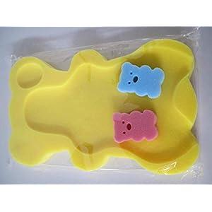 9 Colors Sponge Baby Bath Mat Non-Slip Sponge Mat Anti-Skid Bathtub Infant Bath Pad Newborn Seat for Baby Care Useful and Practical