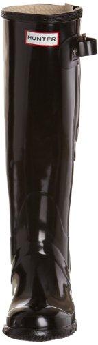 Hunter  Original Adjustable Gloss, Bottes femme Noir-V.6