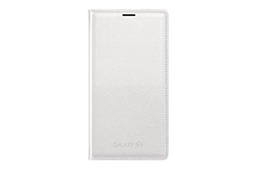Samsung ef-wg900bwegww flip wallet per galaxy s5, bianco