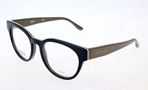 BOSS Hugo Damen Brille Brillengestelle, Blau, 51
