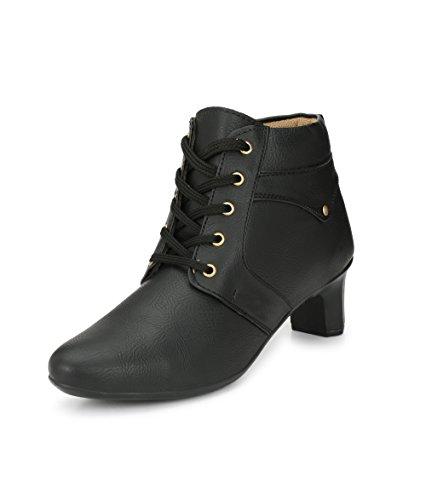 Alexa Shearling Pull On Boots (Black)