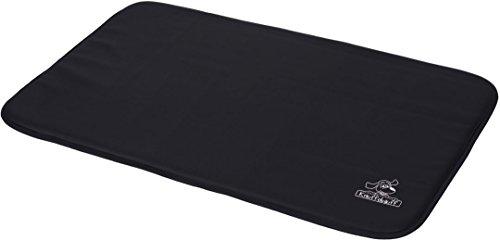 Ovale nero Knuffelwuff impermeabile di cuoio del cane Mat L-XL 95 x 60 - Ovale Mat