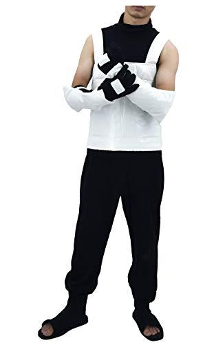 DAZCOS Herren US-Größe Erwachsene Hatake Kakashi Anbu Vest Cosplay Männer Kleine - Kakashi Hatake Anbu Kostüm