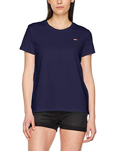 Levi's Levi's Damen Perfect Tee T-Shirt Blau (Tbd14 0014), XX-Small