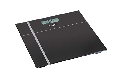 Agaro WS503 Glass Top Electronic Personal Scale