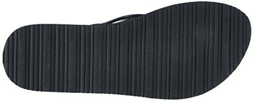 Tommy Hilfiger Damen M1285ellie 8r Zehentrenner Schwarz (Black 990)