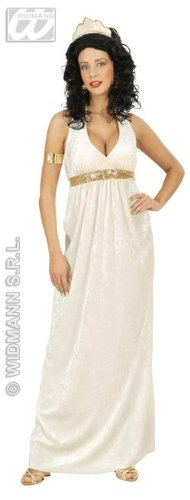 Göttin Samt Kostüm - WIDMANN wdm5614g-Kostüm Griechische Göttin aus Samt,
