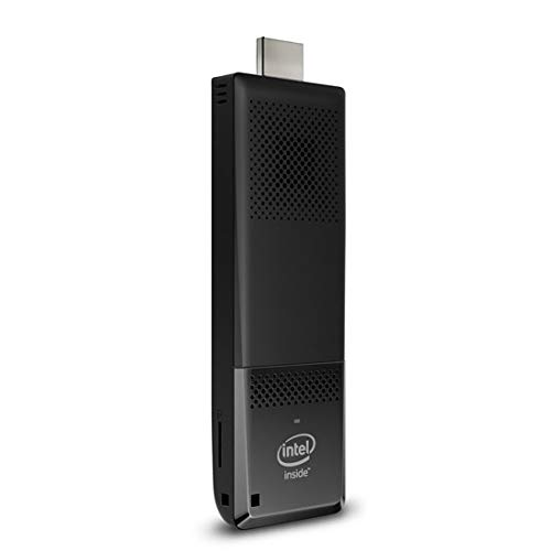 Intel STK1A32SC Atom x5 Computer Stick (Z8300 Prozessor, 2 GB RAM, 32 GB eMMC, HD Graphics Graphics) Schwarz Intel Hd Graphics-bluetooth