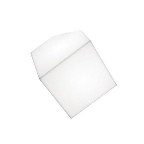Artemide Edge Lampada Parete/Soffitto 21, Bianco