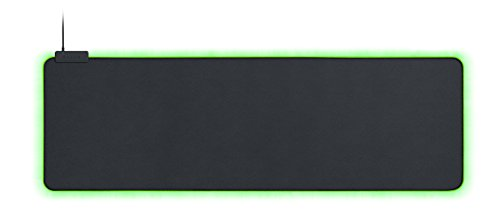 Razer Goliathus Extended Chroma: Surface en tissu micro-texturé - Optimisé pour tous les réglages de sensibilité et capteurs - Propulsé par Razer Chroma - Tapis de souris de jeu en tissu doux