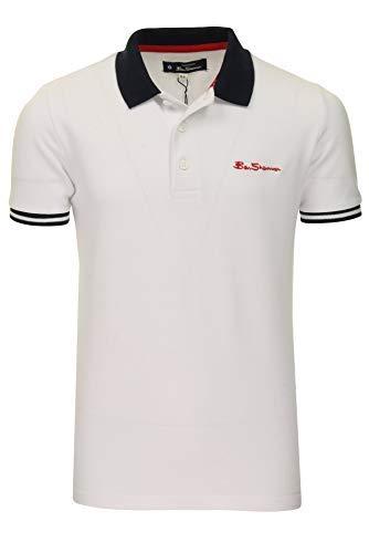 Ben Sherman Jugendliche Jungen Polo T-Shirt Strahlend Weiß 7 Jahre bis zu 15 Jahre - Weiß, 10-11 Jahre /140-146cm