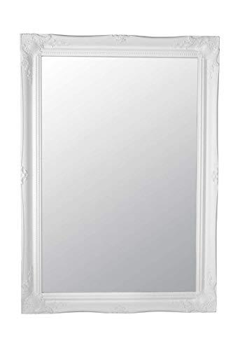 MirrorOutlet Blanco Shabby Chic Estilo Antiguo Espejo