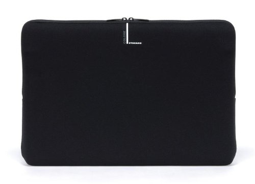 Tucano Second Skin Colore Neopren-Hülle für widescreen Notebooks 43,2 cm (17 Zoll) und 45.7cm (18 Zoll), schwarz (17-zoll-widescreen Laptop-tasche)