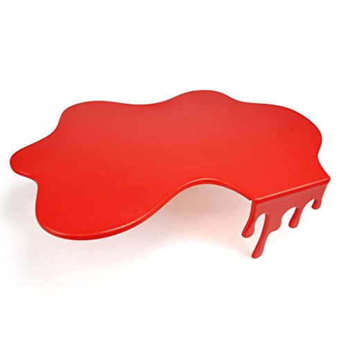 Mustard Splash Chopping Board - Tabla de cortar con diseño splash, color rojo