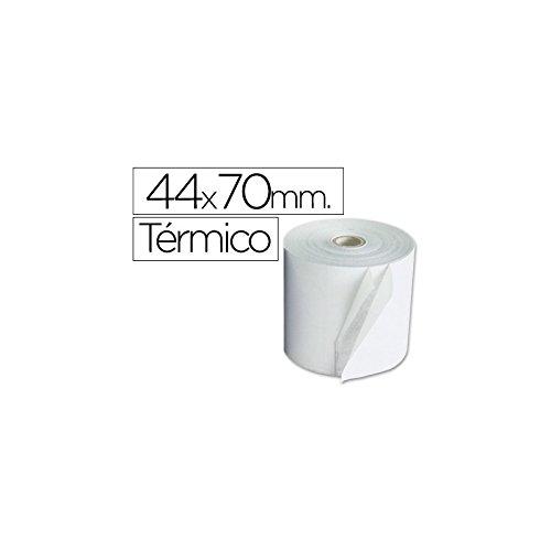 ROLLO SUMADORA TERMICO Q-CONNECT 44 MM ANCHO X 70